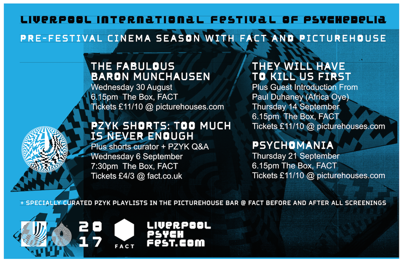 PZYK CINEMA: PSYCHEDELIA IN FILM